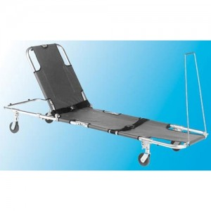Wheeled Stretcher with Adjustable Back