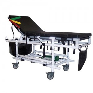 Hospital Gurney Stretcher Bed Combo for Emergency Overflow