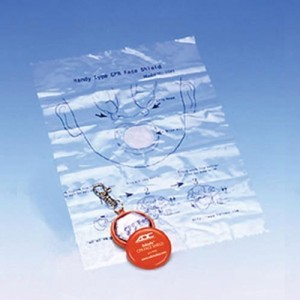 Adsafe CPR Face Shield Keychain