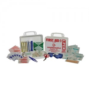 Complete Medical First Aid Kit - 50 Person