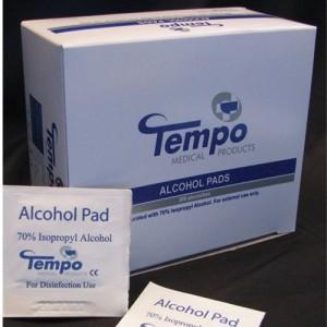 Tempo Alcohol Prep Pads
