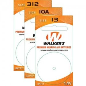 Walker's Game Ear Air Cell Batteries