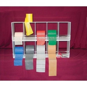 Cando Fitness Resistance Band 10 Roll Storage Rack