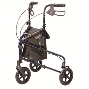 Carex Trio 3 Wheel Rollator Walker