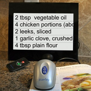 Bierley MPD-12-Color Desktop Video Magnifier