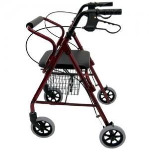 Karman Junior 4 Wheel Rollator Walker