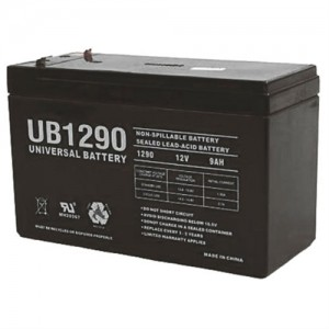 UPG UB1290 9Ah Sealed Lead-Acid AGM 12 Volt Battery