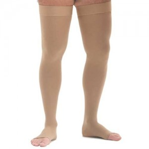 Mediven Comfort 20-30mmHg Petite Thigh High with Silicone Band