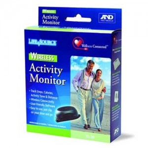 A & D Wireless Activity Monitor