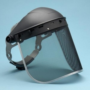 Elvex Steel Mesh Visor for Heat Applications