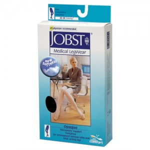 Jobst Opaque 20-30 mmHg Waist High Closed Toe