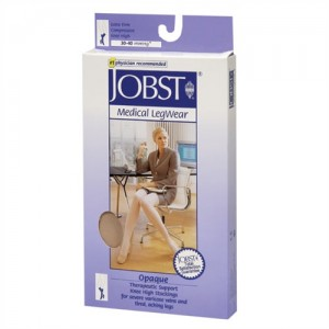 Jobst Opaque 30-40 mmHg Knee High Closed Toe
