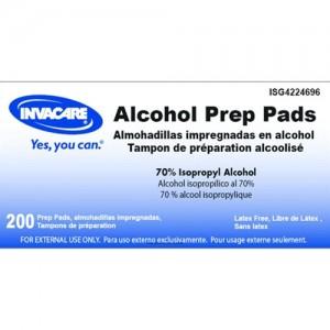 ISG Alcohol Prep Pads Non-Sterile