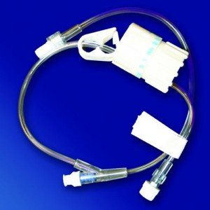 IV FlowControl Ext Set w/ Smartsite Needleless InjectionSite