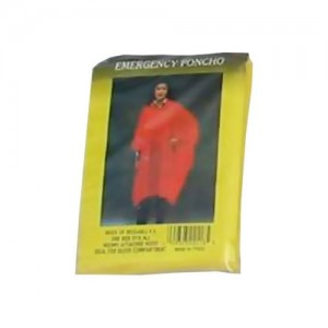 Adult Size Emergency Ponchos