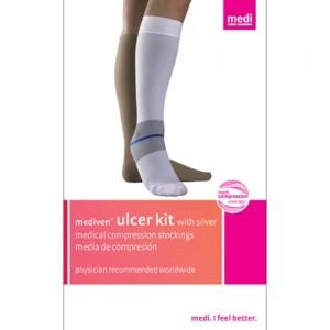 Mediven Ulcer Kit 40 mmHg Petite Knee High Closed Toe