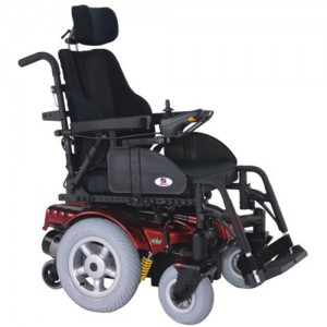 Heartway P16C Vital Heavy Duty Power Wheelchair w/Captain Seat