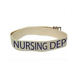 Nursing Department Labelled Gait Belts