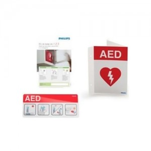 Philips AED Awareness Signage Bundle