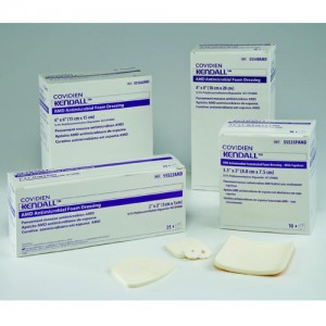 Kendall AMD Antimicrobial Foam Dressings