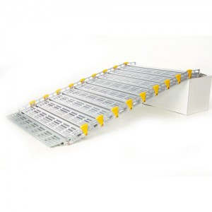 Light Weight Roll-A-Ramp w/ Built In Safety Rails