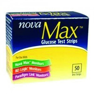 SANVITA LLC Nova Max Glucose Test Strips