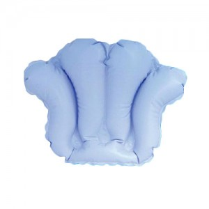 Inflatable Bath Pillow with Suction Cups