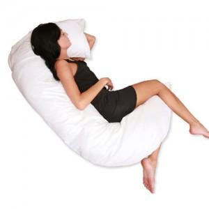 C Full Body Pillow - White