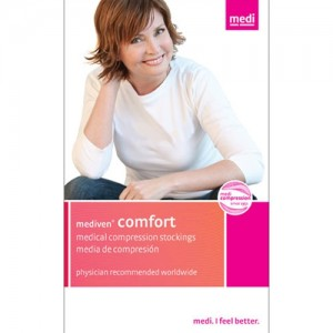 Mediven Comfort 15-20 mmHg Petite Panty Hose OT Adj Waist
