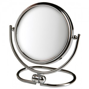 Jerdon 10x Travel Magnifying Makeup Mirror MC310C