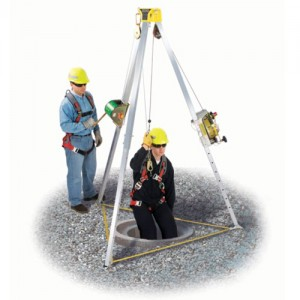 MSA Lynx Complete Confined Space Entry Kit With 8' Tripod