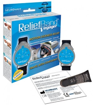 The Relief Band for Motion Sickness