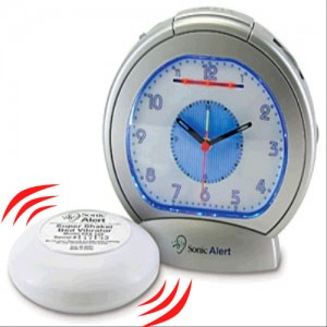 Sonic Boom Analog Vibrating Alarm Clock
