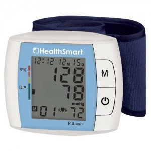 HEALTHSMART Standard Automatic Wrist Digital Blood Pressure Monitor