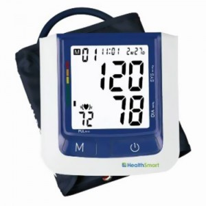 HEALTHSMART Premium Talking Automatic Arm Digital Blood Pressure Monitor