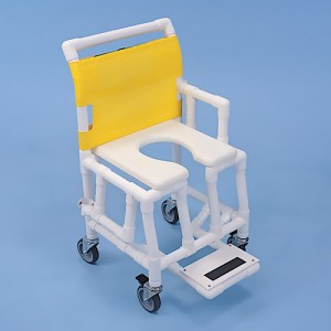 Shower Taxi PVC Rolling Shower Chair