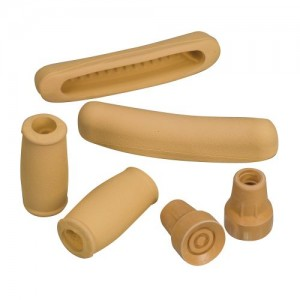 DMI Closed Handgrip Crutch Accessory Kit