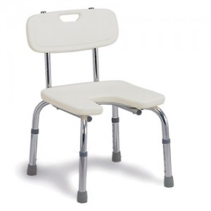 DMI Hygienic Bath Seat with Backrest