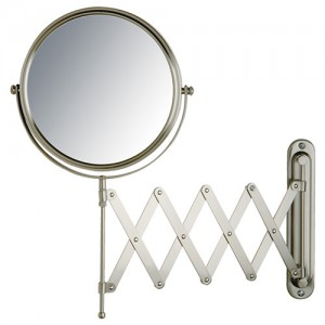 Jerdon 7X-8 inch 2-Sided Swivel Wall Mount Extension Mirror