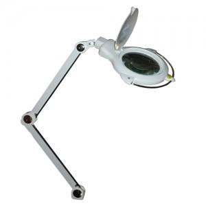 MG Electronics LED Desktop Magnifier Lamp w/ 2 Light Modes