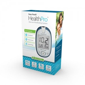 Easy Touch Health Pro Glucose Monitoring System