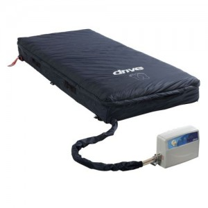 "Drive Med-Aire Assure 5"" Air with 3"" Foam Base Alternating Pressure and Low Air Loss Mattress System"