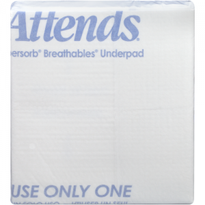 Attends Healthcare Products Attends Supersorb Breathable Underpads Super Absorbency