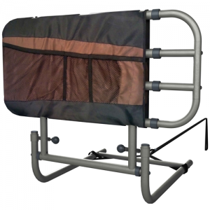 EZ Adjust Bed Rail w/ Pouch by Stander
