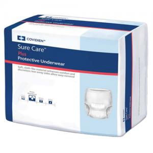 Covidien SureCare PLUS Adult Protective Underwear Heavy Absorbency
