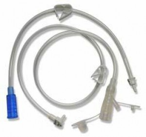 Tech Right Angle Feeding Sets Straight Port by Applied Medical