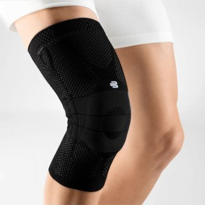Bauerfeind GenuTrain Knee Support Brace (unisex) - Titanium, Black, Nature