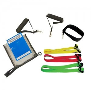 Cando Fitness Adjustable Resistance Bands