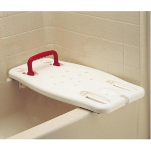 Nova Bath Transfer Board with Red Handle
