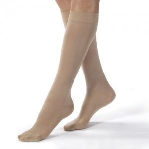 Jobst Opaque Knee High Compression Stockings 20 - 30 mmHg